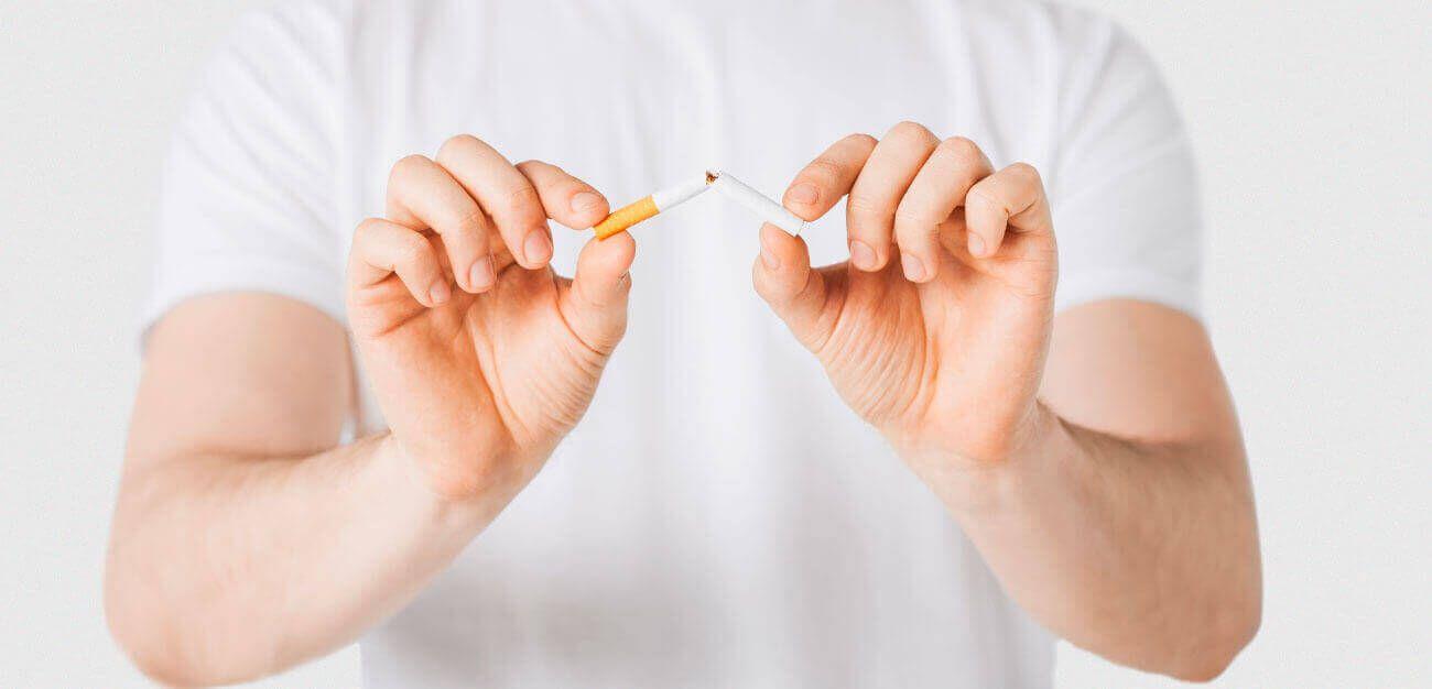 smettere di fumare e staccarsi dalla dipendenza
